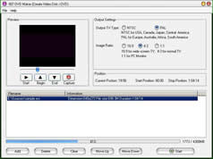 Click to view 007 DVD Maker 4.22 screenshot